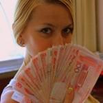Оля с юанями