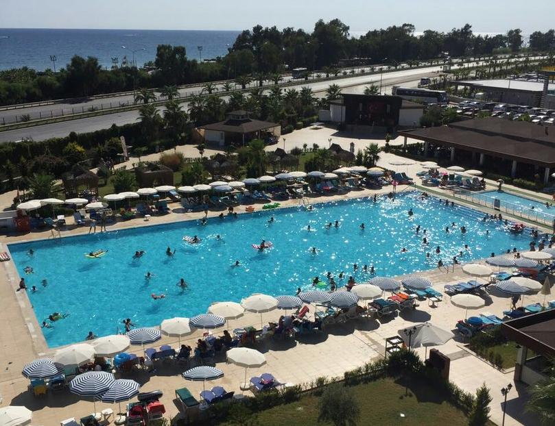 Eftalia Aqua Resort территория
